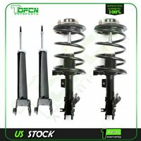 Fits 04-08 Nissan Maxima 2 Front Struts Springs and 2 Rear Shocks Absorbers Set