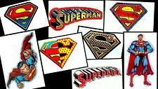 SUPERMAN SUPERGIRL LOGO LAPTOP STICKER DECAL~DC COMICS SUPERHERO~BOGO 40% OFF
