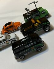 Vintage Matchbox LOT OF 5  X-treme Mission Action Radar VW Beetle Bus Blazer