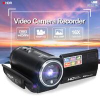 2.7'' inch Full HD 1080P 16X Optical Zoom Digital Video Camera Camcorder DV