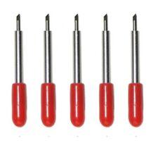 5pcs 45 Deg Vinyl Plotter Blades Roland Cricut Cutter Blade Knife CNC Plot RD UK