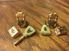 "Two Gold ""Gibson Deluxe"" Kluson Tuners - From J200"