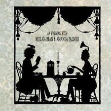 """AMANDA Palmer & Neil di Gaiman-Una serata con Neil di Gaiman (NUOVO 2 x 12"""" VINILE LP)"""