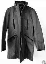 New H&M Distressed Faux-leather Men's Coat size 36R