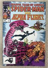 Marvel Team-Up Annual 7 1984 Alpha Flight Spiderman VF/NM condition