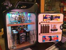 "Jack Daniels NEU"" Cocktail Jack"" - USB LED-beleuchtete Minibar im Benzinkanister"