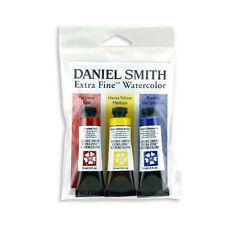 DANIEL SMITH Extra Fine Primary Watercolor Set, 3 Tubes, 15ml Multicolor