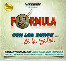 La 6ta Formula con Los Duros de La Salsa Vol 1 (Digipak)   BRAND  NEW SEALED CD6