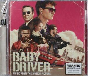 Baby Driver (Soundtrack)  - New Sealed Damaged Case   -  CD (C1358)