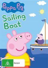 Peppa Pig - Sailing Boat (DVD, 2018) Brand New & Sealed Region 4
