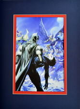 DEATH Of ROBIN PRINT PROFESSIONALLY MATTED Batman Justice League Jim Lee A Ross