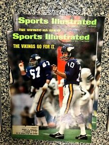 November 7, 1974 Sports Illustrated Vikings