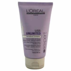 Loreal serie expert Liss Unlimited Keratinoil complex smoothing cream  5oz