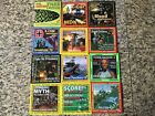 Computer Games Magazine Cd Demo Disk Lot Issues 77 - 88 Vintage