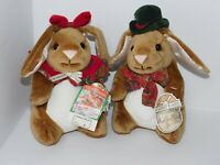 Velveteen Rabbit Plush Toys R Us Vintage Stuffed Bunnies Boy Girl