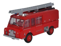 Oxford Diecast 1:76 - Land Rover FT6 Carmichael Army Fire Service