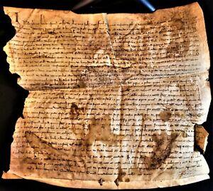 1306 - MEDIEVAL PARCHMENT PHILIP III & CLEMENT V ERA Handschriften auf Pergament