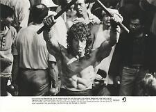 echtes Pressefoto RAMBO 3 Sylvester Stallone Sammlungsauflösung