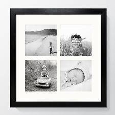 Modern Photo Oxford Square Multi Picture Frame Black Instagram Collage 4x4 6x4