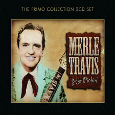 Merle Travis HOT PICKIN' Best Of 40 Essential Songs COLLECTION New Sealed 2 CD