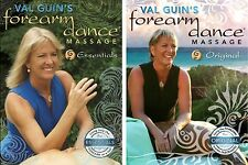 Val Guins Forearm Dance Massage & Spa Video - 2 DVD Set - Original & Essentials