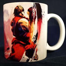 KEN STREET FIGHTER 4 IV - Coffee MUG - Ryu - Super Streetfighter 2