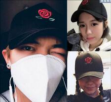 2016 Kpop Bigbang G-Dragon Rose Flower Snapback Men's Women's Hat Baseball Cap