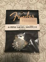 Fender 4-Way Telecaster Custom Shop Selector Switch (0992250000)