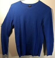 Magaschoni Cashmere Women's Long Sleeve Crew Neck Pullover Sweater Size M Medium