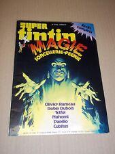"""MAGAZINE """"SUPER TINTIN, no 51 bis"""" (1980) MAGIE - SORCELLERIE - FEERIE"""