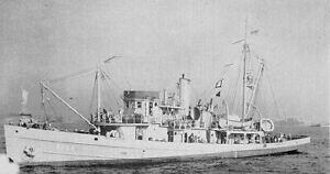 Historic Artifact World War II Shipwreck Minesweeper U.S.S. Redwing w/ COA