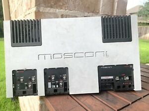 MOSCONI Gladden AS 100.4 4 Channel Amplifier UNTESTED