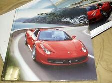 FERRARI 458 SPIDER brochure hardcover Prospekt catalogue 95993352
