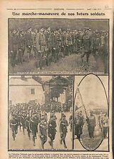 Ecole St-Cyr Colonel Gratier Fédération Nationale Préparation Militaire 1915 WWI