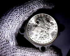 1898-o Blast White Unc Morgan Silver Dollar from a Original Roll Will Grade Out