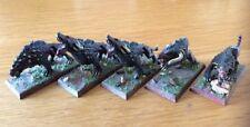 Warhammer Metal Miniatures bestias del caos aos warhounds Pro Pintado Lote de 5