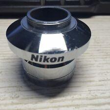 Nikon Microscope C Mount Cameraphoto Adapter 38mm Diameter