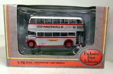 Efe 1/76 escala 31101 Leyland PD2 autobús Modelo Diecast Highbridge Silver Star