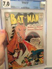 Batman # 155 CGC 7.0 OW (DC, 1963) 1st Silver Age Penguin