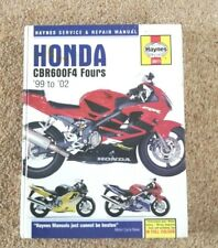 Honda Haynes Manual CBR 1999-2002