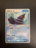 Walrein EX - Pokemon Card - EX Power Keepers - Ultra Rare Holo - LP