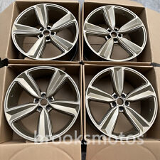 """21"""" NEW BRONZE WHEELS RIMS FITS FOR AUDI A5 S5 A7 S7 RS7 A8 21X9 OFFSET30"""