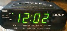 Sony Icf-C212 Dream Machine Fm/Am Led Alarm Clock Radio Snooze Battery Backup