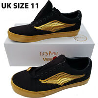 Official Vans x Harry Potter Golden Snitch Old Skool Shoes Trainers UK 11 Mens