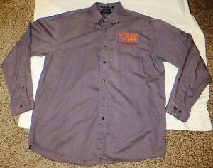 Race Car Factory Long Sleeve Shirt * Genuine NHRA Sponsor Worn Shirt * Rare