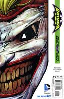 Batman and Robin #15 New 52 1st Print DIE CUT JOKER COVER Near Mint to NM+ cbx1z