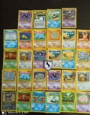 lot de 30 cartes pokemon WIZARD NÉO DESTINY