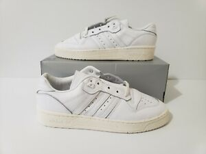 Adidas Originals Rivalry Low Triple White/Ivory EE9139 Men's Size 9.5 NWOB