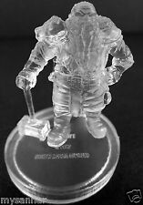 D&D mini SHIELD DWARF FIGHTER Invisible Dungeons & Dragons Pathfinder Miniature