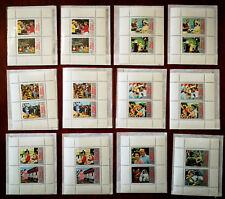 24 x Silver Jubilee Commemorative Stamps of H. M. Queen Elizabeth II 1952 – 1977